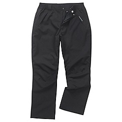 Craghoppers - Black stefan trousers - regular leg length