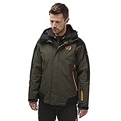 Bear Grylls - Adventuregreen/blk bear mountain jacket