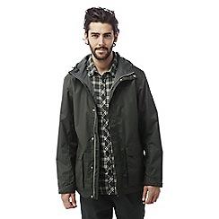 Craghoppers - Dark khaki Kiwi classic waterproof jacket