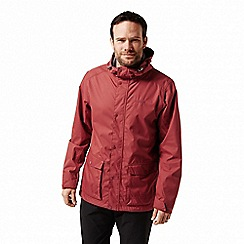 Craghoppers - Red 'Kiwi' classic waterproof jacket