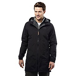 Craghoppers - Black caywood gore-tex waterproof paclite parka