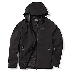 Craghoppers - Black jerome gore-tex waterproof stretch jacket