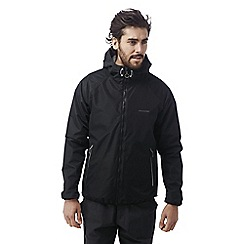 Craghoppers - Black C65 lightweight waterproof shell jacket