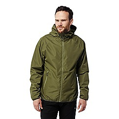 Craghoppers - Green 'C65' lightweight waterproof shell jacket
