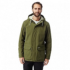 Craghoppers - Dark moss hickory waterproof jacket