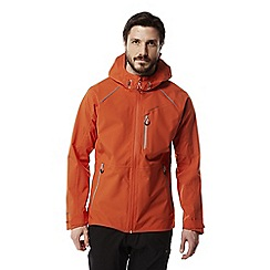 Craghoppers - Spiced orange Robens stretch lightweight waterproof jacket