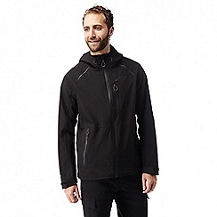 Craghoppers - Black Robens stretch lightweight waterproof jacket