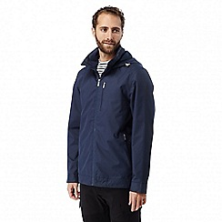 Craghoppers - Night blue Shorewood waterproof harrington jacket