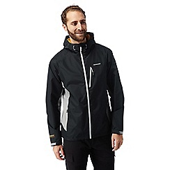 Craghoppers - Black/grey Discovery adventures lightweight waterproof jacket