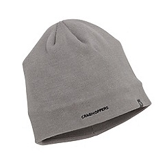 Craghoppers - Quarry grey knitted beanie