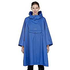 Craghoppers - Imperial blue unisex poncho