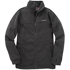 Craghoppers - Black basecamp full zip fleece