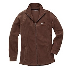 Craghoppers - Brown Basecamp Full Zip Fleece