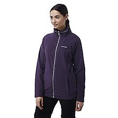 Craghoppers - Dark plum Madigan interactive fleece jacket