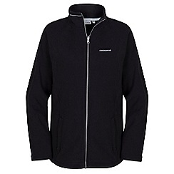 Craghoppers - Black Madigan interactive fleece jacket