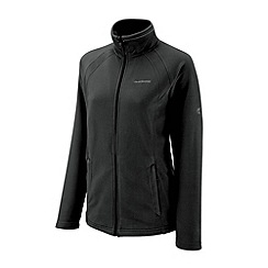 Craghoppers - Black madigan full zip fleece jacket