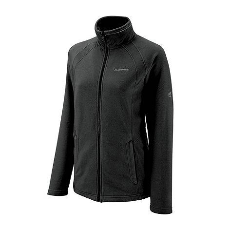 Craghoppers - Black madigan full zip fleece jacket