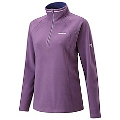 Craghoppers - Mulberry miska ii half-zip fleece