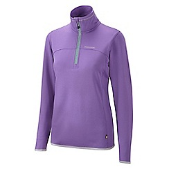 Craghoppers - Ultra violet ionic half zip fleece