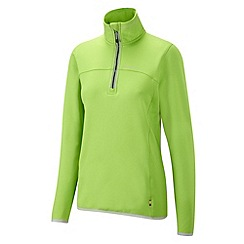 Craghoppers - Bright apple ionic half zip fleece