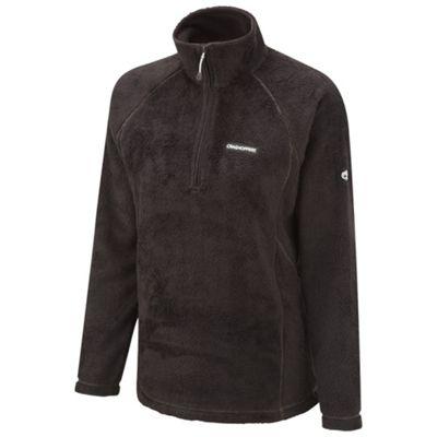 Craghoppers Black dahlia half-zip fleece - . -