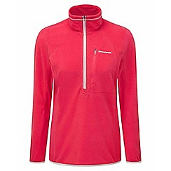 Craghoppers - Electric pink Pro lite half-zip fleece
