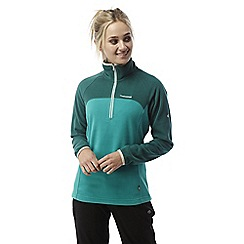 Craghoppers - Bright turquoise Ionic ii half zip lightweight fleece