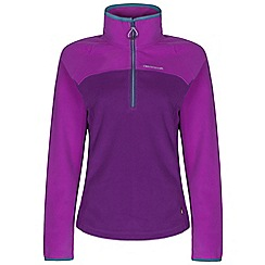 Craghoppers - Diva purple Ionic ii half zip fleece