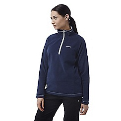 Craghoppers - Night blue Seline half zip microfleece