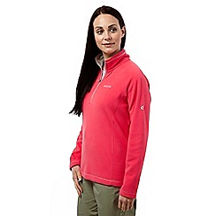 Craghoppers - Watermelon seline half zip microfleece