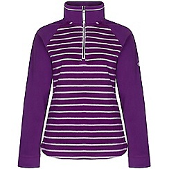 Craghoppers - Diva purple atalia half zip