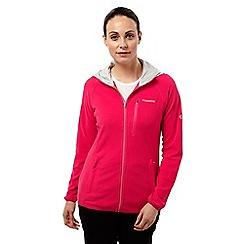 Craghoppers - Electric pink Prolite hybrid fleece jacket