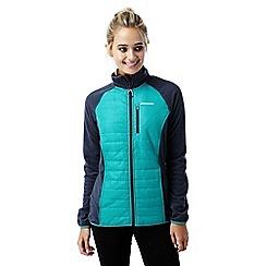 Craghoppers - Bright turquoise C65 hybrid jacket