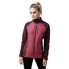 Craghoppers - Roseship pink C65 hybrid jacket
