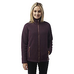Craghoppers - Dark rioja red Cayton insulating fleece jacket