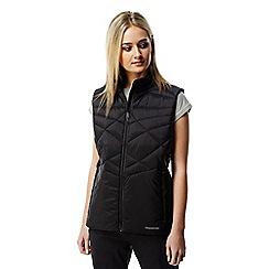 Craghoppers - Black Midas water-resistant gilet vest
