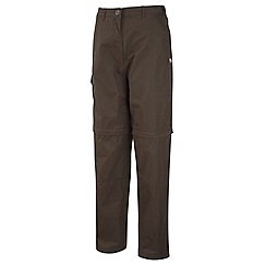 Craghoppers - Dark Saddle Basecamp Convertible Trousers - Long Length