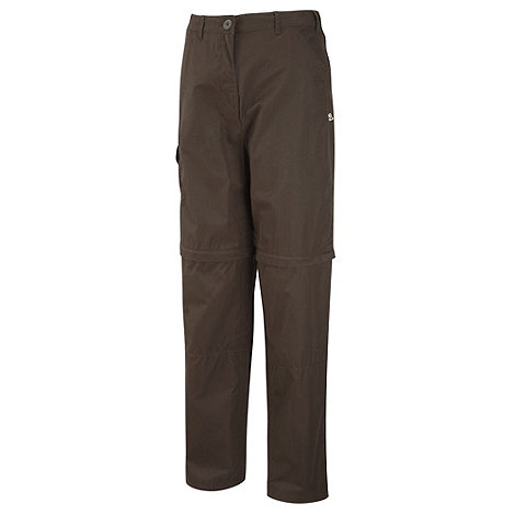 Craghoppers - Dark Saddle Basecamp Convertible Trousers - Regular Length
