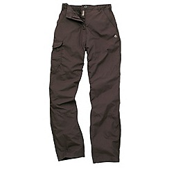 Craghoppers - Dark saddle basecamp trousers - long leg length