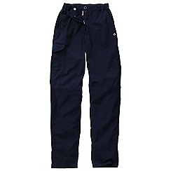 Craghoppers - Navy basecamp trousers - long leg length