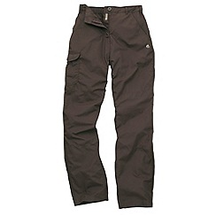 Craghoppers - Brown Basecamp Walking Trousers