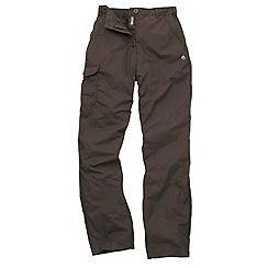 Craghoppers - Brown Basecamp Walking Trousers