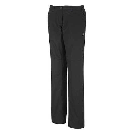 Craghoppers - Black Terrain Trousers - Long Length