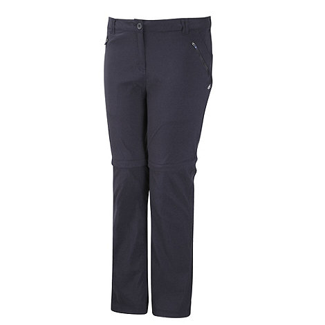 Craghoppers - Dark Navy Kiwi Pro Convertible Trousers - Regular