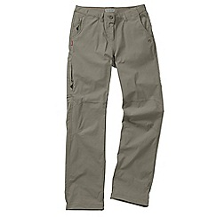 Craghoppers - Mushroom nosilife stretch trousers - regular leg length