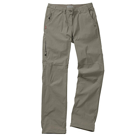 Craghoppers - Mushroom nosilife stretch trousers - regular leg length