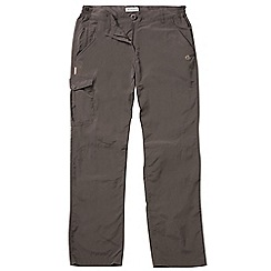 Craghoppers - Cocoa nosilife trousers - long leg length