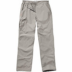 Craghoppers - Mushroom nosilife trousers - long leg length