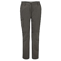 Craghoppers - Litchen green nosilife trousers