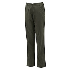 Craghoppers - Mid khaki nosilife trousers - short leg length